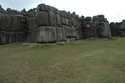 The Beginning of the End of the Incas, Sacsayhuaman