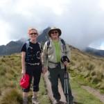 Climbing Pichincha, Quito,  Ecuador