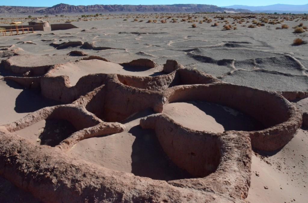 Atacama Desert mud huts