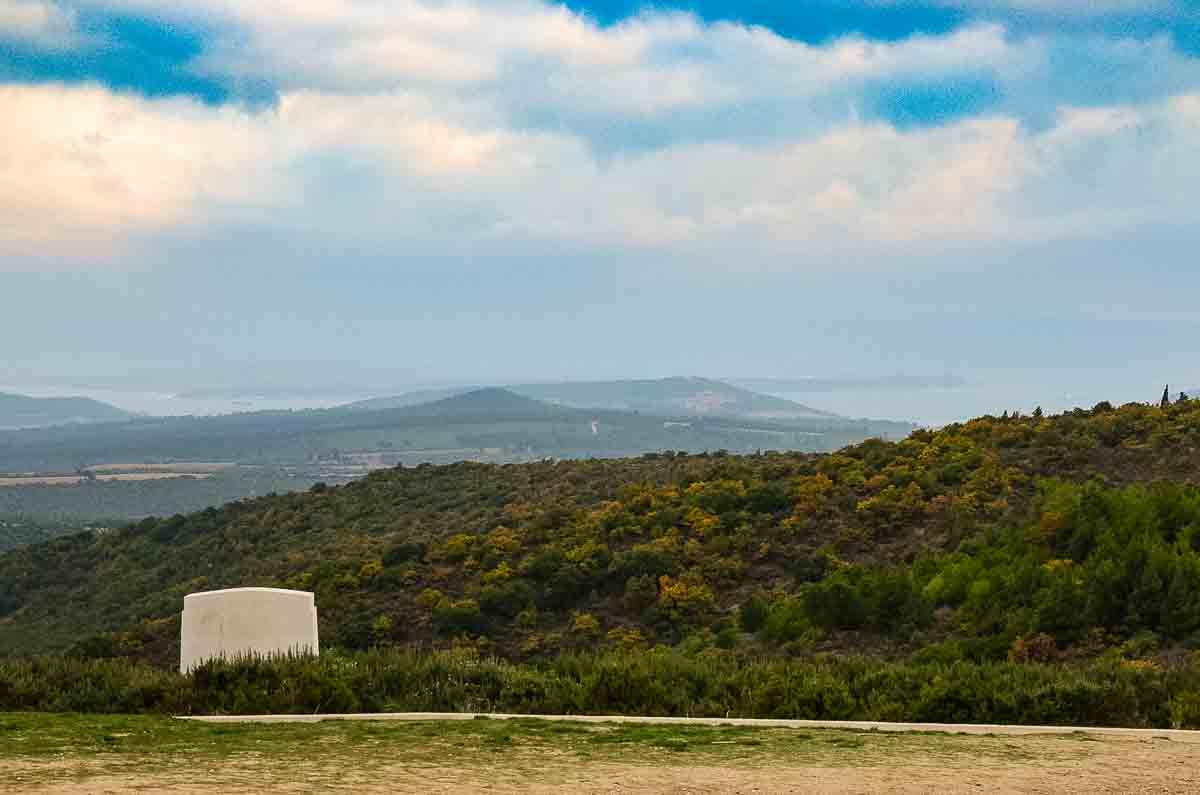 gallipoli view of dardanelles
