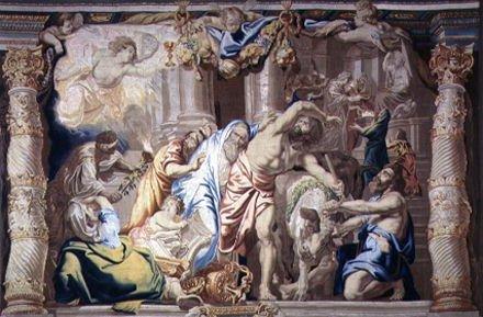 monasterio de las descalzas reales tapestry