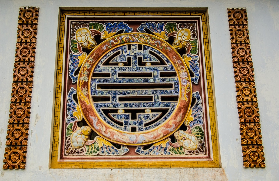 hue citadel wall decoration