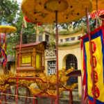 Buddhist Temple, Hanoi, Vietnam