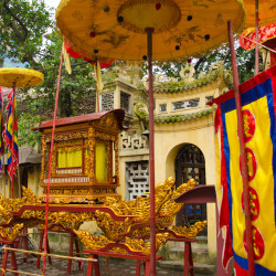 Hanoi Buddhist temple