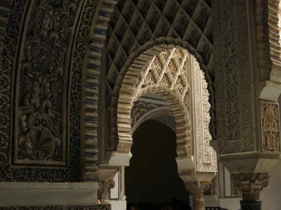 arches alcazar seville sevilla unesco world heritage