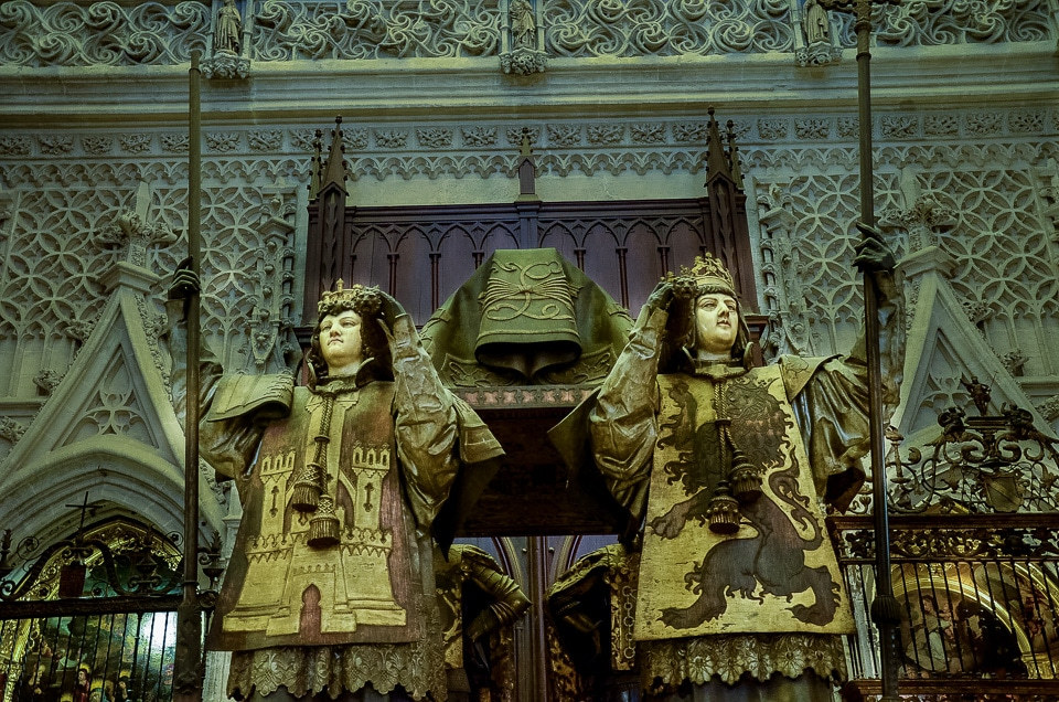 tomb christoper columbus sevilla cathedral