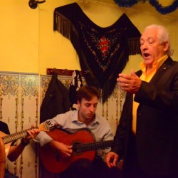 The Fado was better when the young woman was singing. However, I was so entranced I forgot to take her picture.