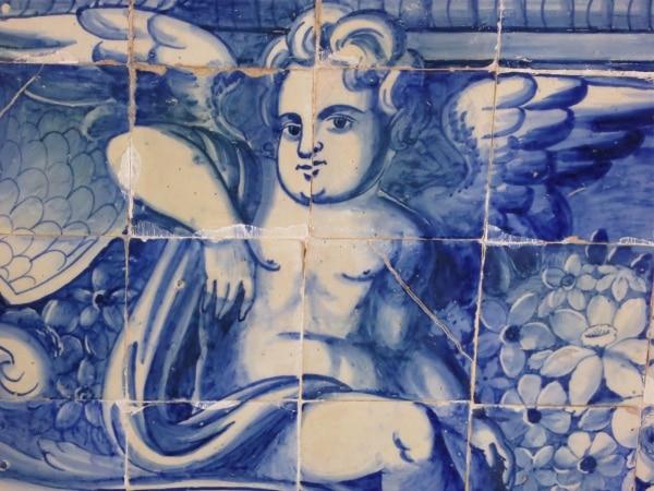 Sintra castle insouciant angel