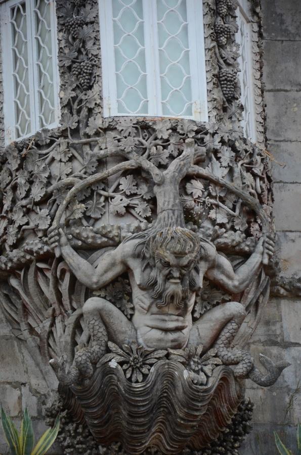 Sintra Pena palace troll
