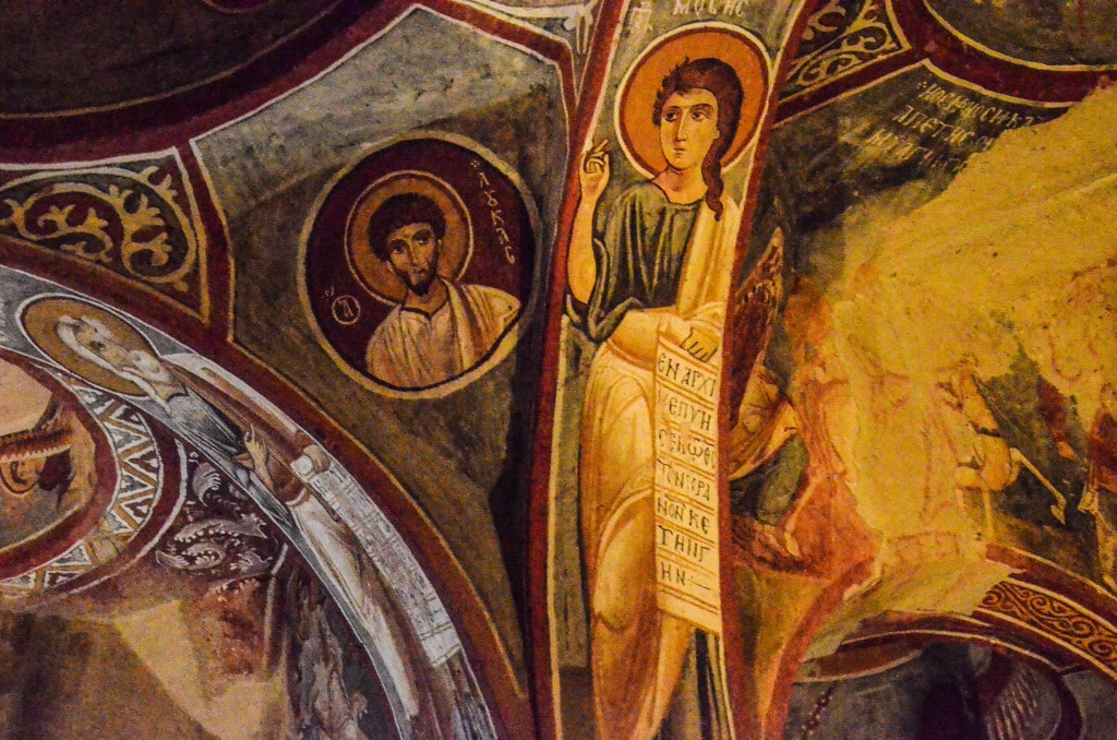 cappadocia turkey cave church