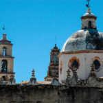 Cupolas, Atotonilco, Mexico, near San Miguel de Allende