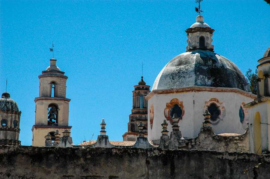 cupolas Atontonilco mexico San Miguel de Allende