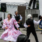 Folk Dancing on a Sunday Afternoon, Quito
