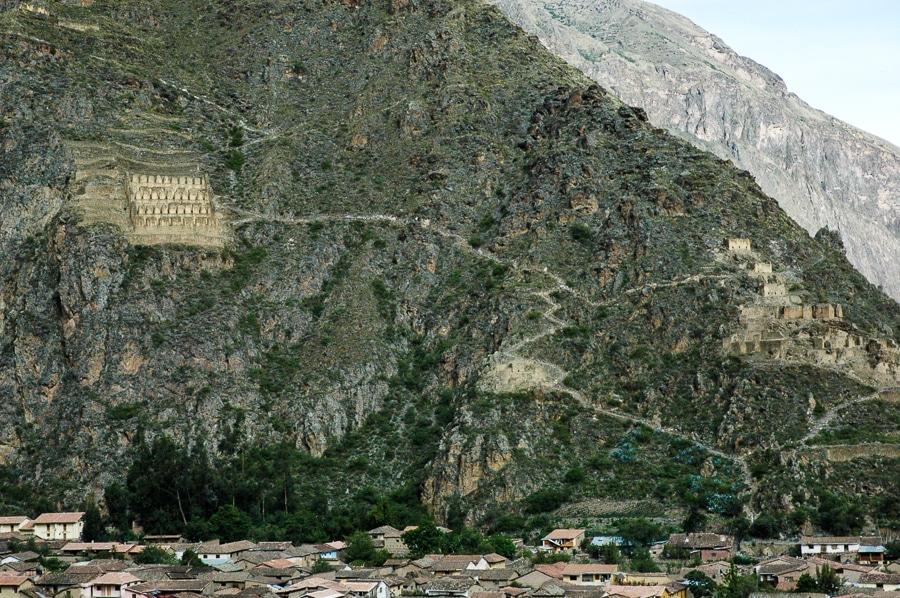 inca storehouses ollantaytambo