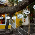Pablo Neruda's Eyes, Santiago, Chile