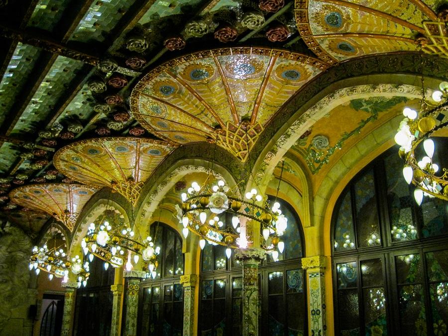 Palau de la Musica, Barcelona unesco world heritage