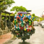 Plastic Goods Shop on Wheels, Ubud, Bali
