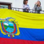 A Politician Harangues the Crowd, Quito, Ecuador