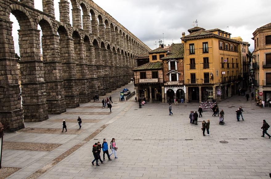 aqueduct Segovia Spain