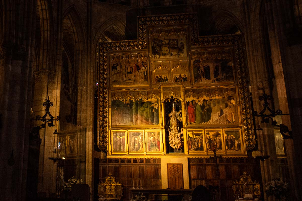 spain leon cathedral main altar