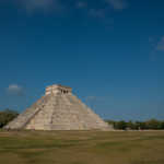 Pyramid of Kukulkan, Chichen Itza, Yucatan, Mexico