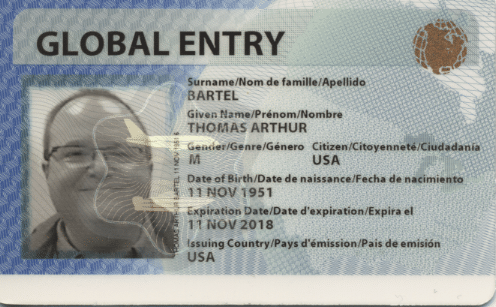 Cutting In Line With The Global Entry Program Travel Past 50