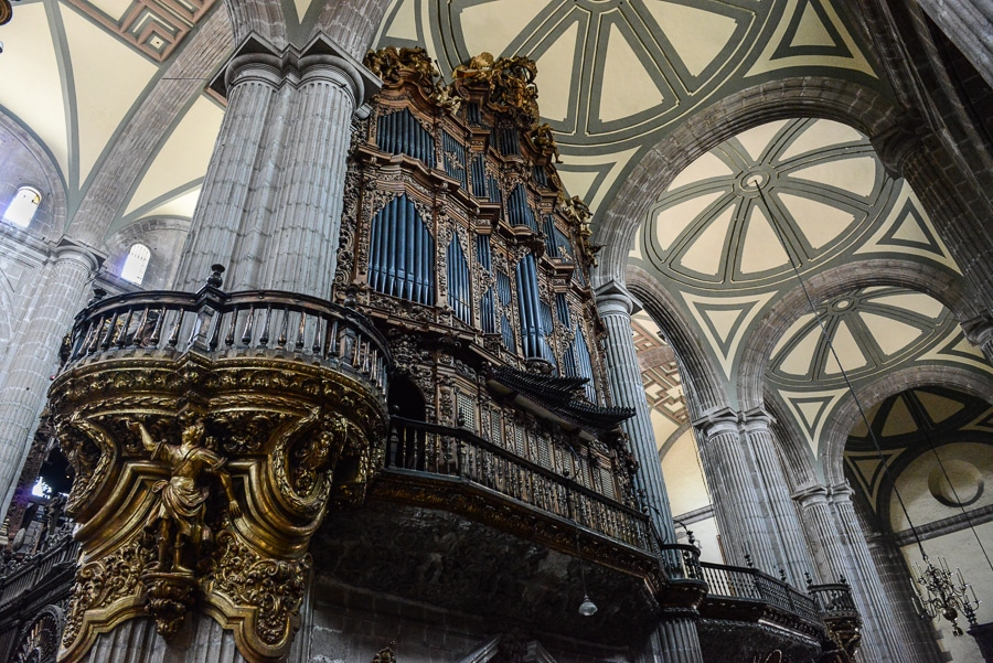 mexico city cathedral organ