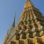 Temple Towers at Wat Pho, Bangkok