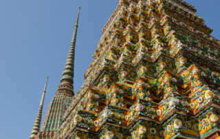 temple towers Bangkok