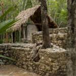 Covered Stele, Cobá, Yucatán, Mexico