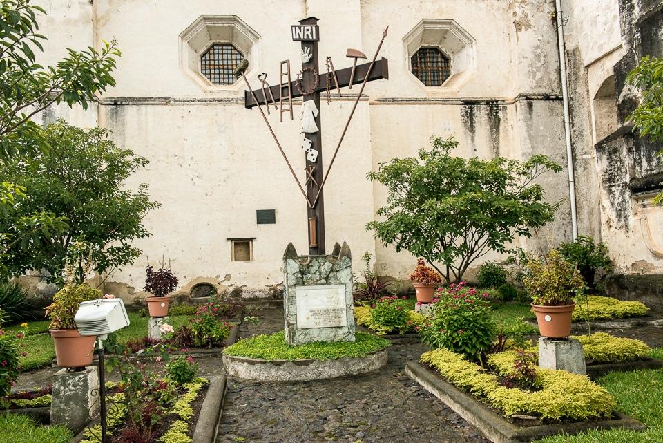 Crucifix San Francisco Antigua Guatemala
