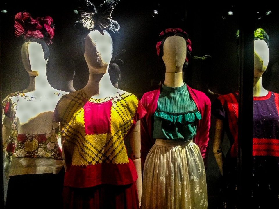 Frida Kahlo's dresses