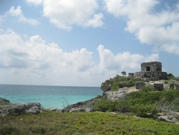 Mayan fortress by the sea