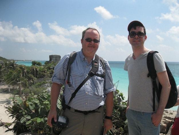 We met Eloy at Uxmal, then Chichén Itzá, then Tulúm.