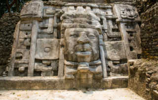 Temple of the Masks Lamanai Belize