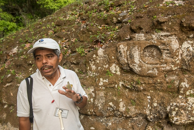 Tikal guide Marcos