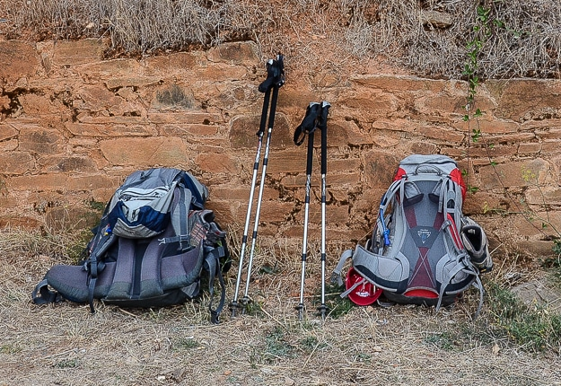 camino de santiago backpack
