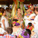 Folk Dancing, El Cedrál, Cozumél