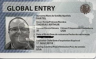 global entry card - Global Travel Card