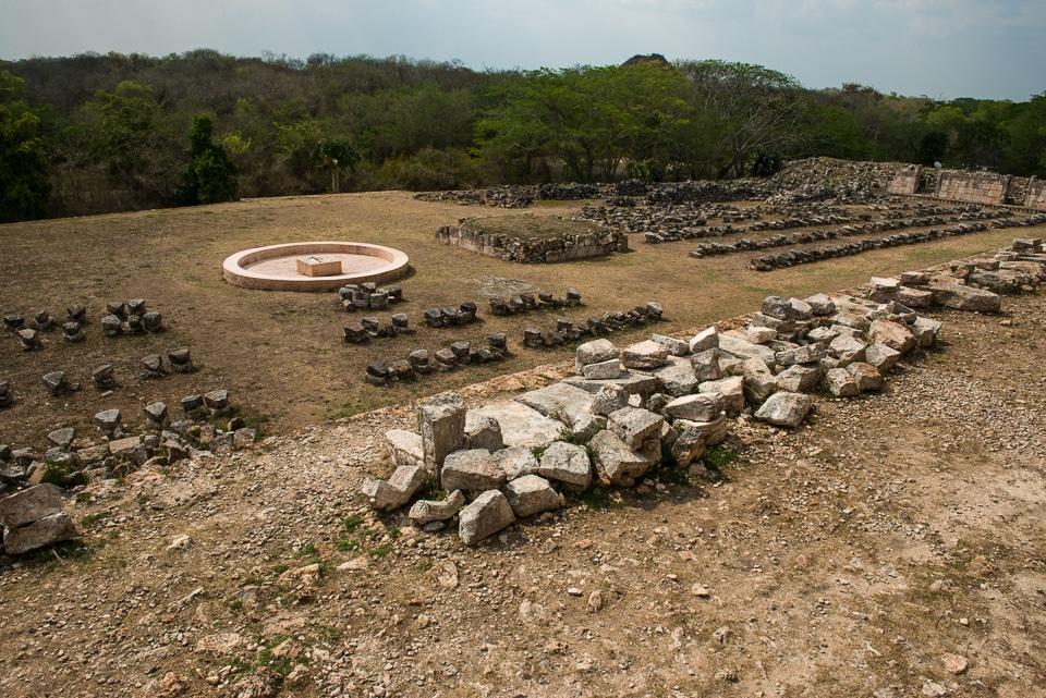 kabah yucatan restoration