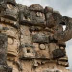 Temple Carvings, Kabáh, Yucatán, Mexico