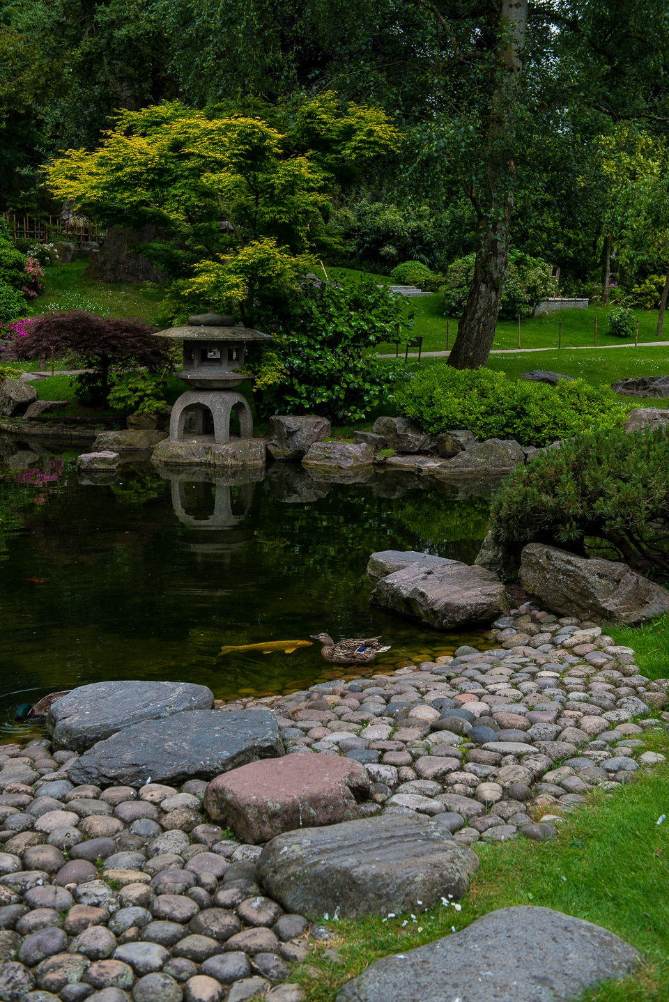 Kyoto Garden, Holland Park, Kensington, London
