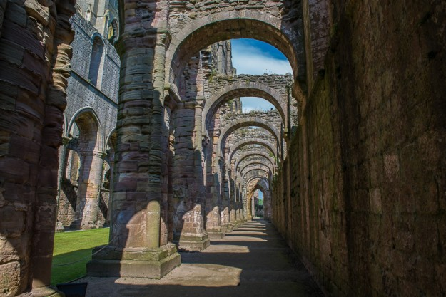 fountains abbey england