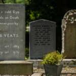 W. B. Yeats' Grave, Drumcliffe, Sligo, Ireland