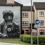 The Bogside Artists, Derry, Northern Ireland