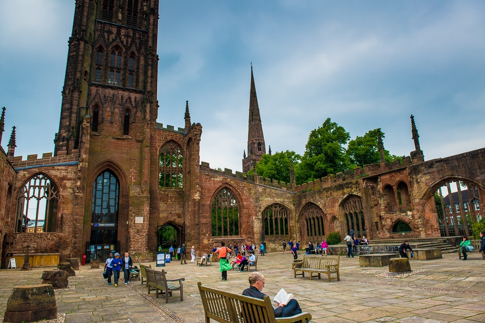 Coventry Cathedral England Travel Past 50
