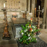 Tomb of the Venerable Bede, Durham Cathedral, England