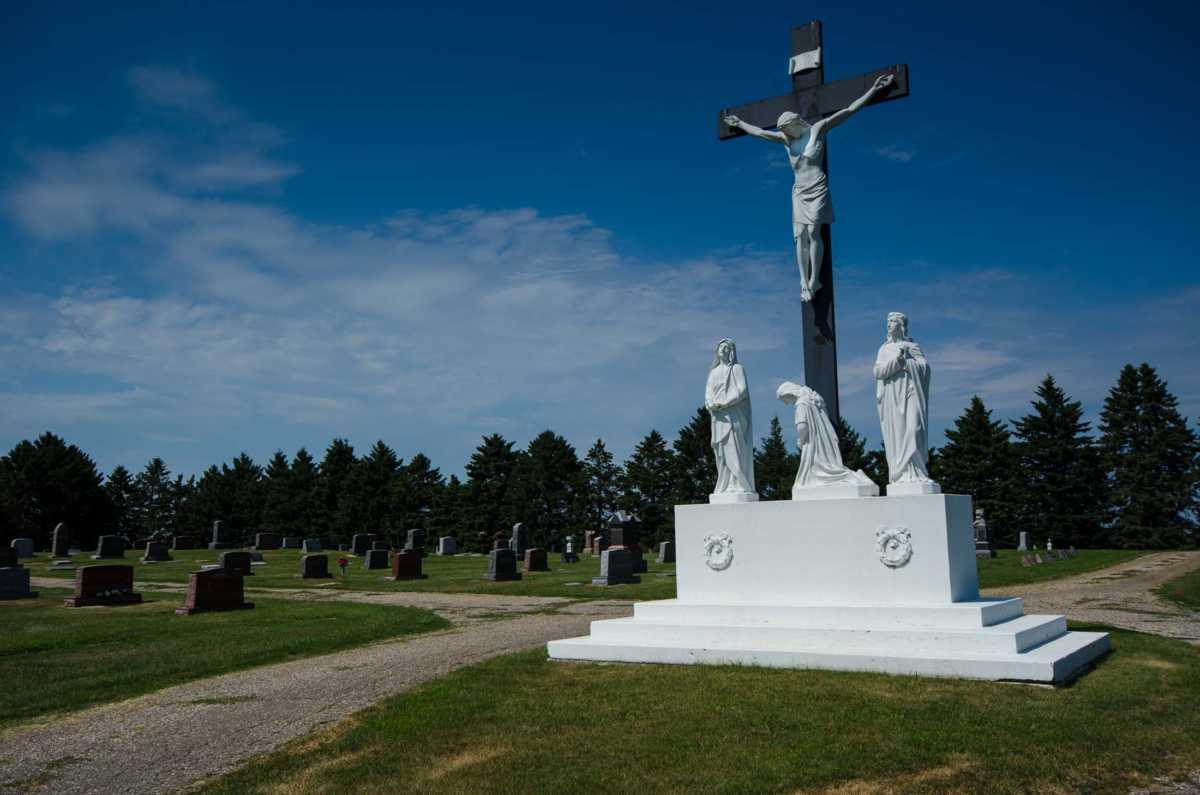 Catholic Cemetery Murdock Minnesota Travel Past 50