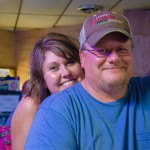 Farm Couple at the Bar, Andover, South Dakota