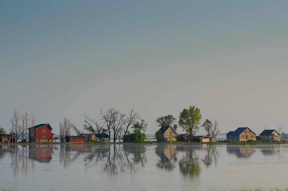 flooded homes webster south dakota